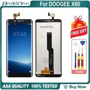 Image 1 - Hohe Qualität Für DOOGEE X60 LCD & touchscreen Digitizer mit rahmen display Screen modul Reparatur Ersatz Zubehör Teile