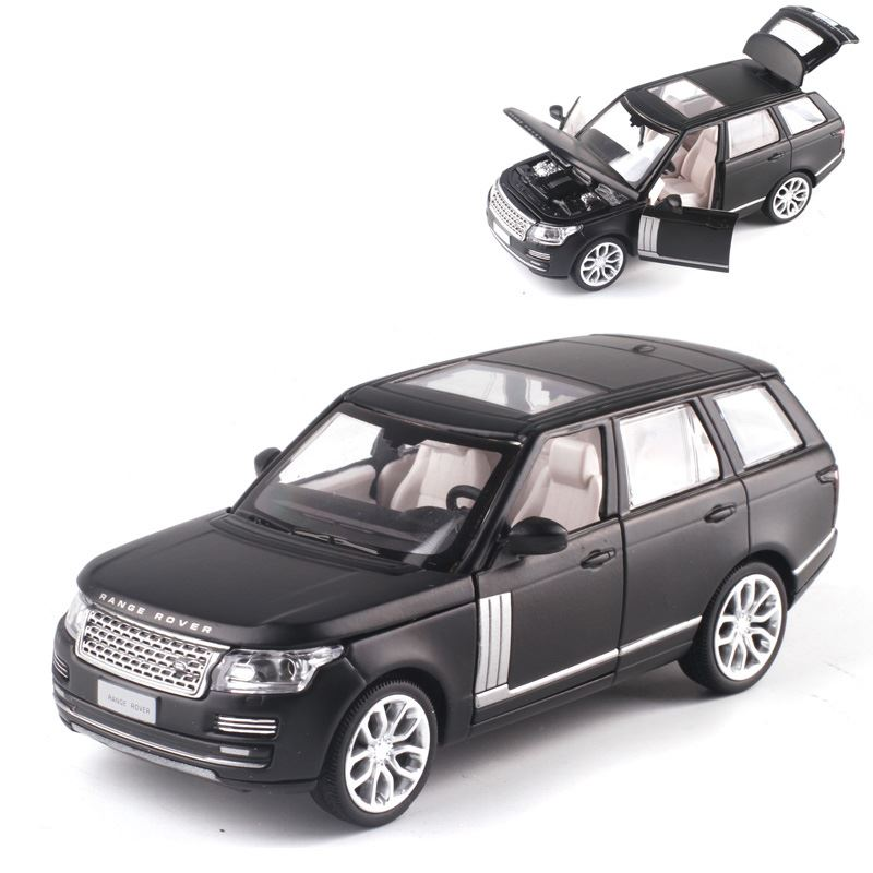 High Quality 1:34 Range Rover Off-road Alloy Model,collection Of Die-cast Sound And Light Pull Back Model Car,free Shipping