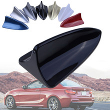 Antena decorativa para suv saloon telhado do carro barbatana de tubarão antena peças de modelagem universal manequim luz nenhuma função à venda