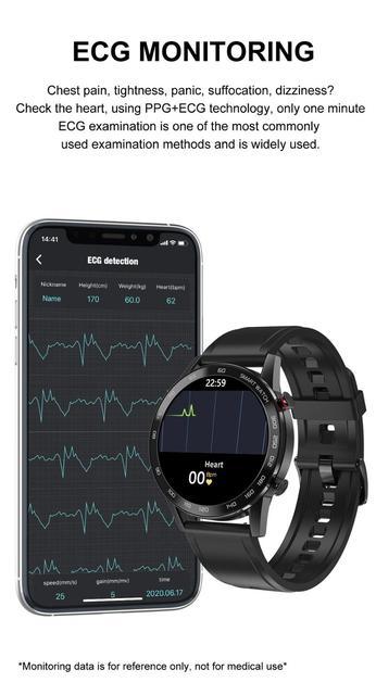 2020 SANLEPUS ECG montre intelligente Bluetooth 6