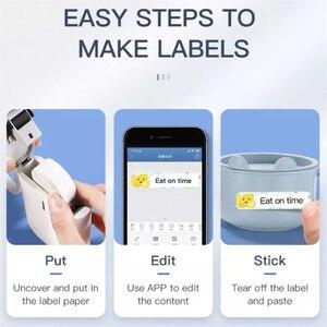 Image 5 - Niimbot D11 Mini Portable Thermal Price Label Printer Hangul Bluetooth Label Maker Pocket Materials Management Sticker Machine