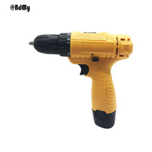 BDMY 12v Lithium Electric Drill Single Speed Cordless Screwdriver Mini Household Combination Tool
