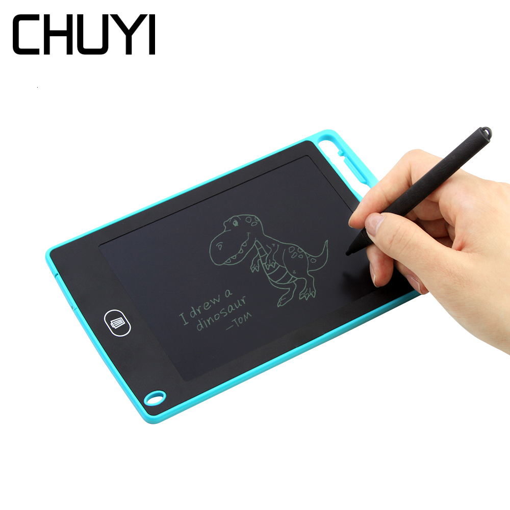 CHUYI 6.5 Inch LCD Writing Tablet Ultra Thin Mini Handwriting Pad Electronic Digital Graphic Tablet Memo Drawing Board For Kids