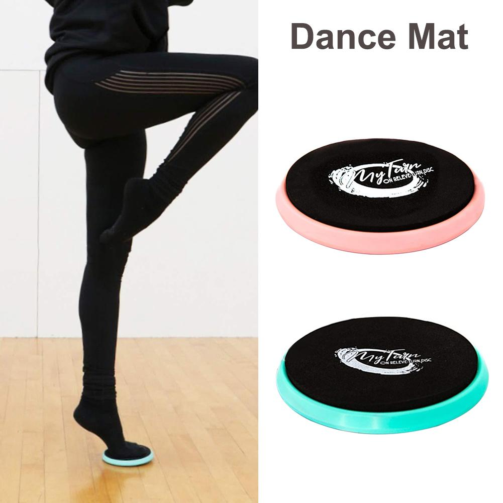 Ballet Turning Disc Portable Turn Board Dance Flat Mat Rotary Dancing Cushion For Dancers Gymnastics And Ice Skaters