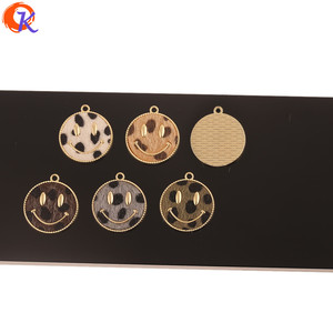 Image 2 - Cordial Design 50Pcs 25*28MM Jewelry Accessories/DIY Making/Leopard Print Effect/Hand Made/Face Shape/Charms/Earrings Findings