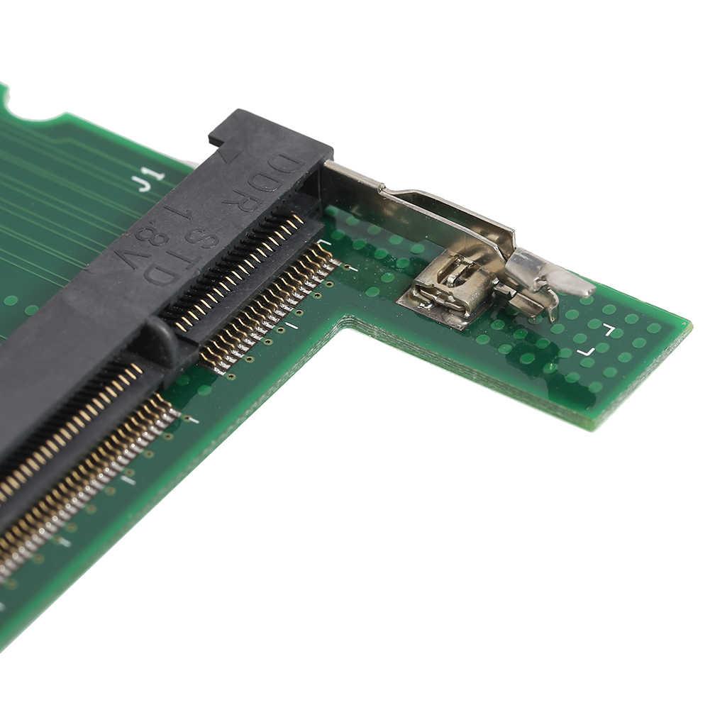 DDR2/DDR3แล็ปท็อปSO DIMMเดสก์ท็อปDIMMหน่วยความจำอะแดปเตอร์RAMการ์ดคอมพิวเตอร์ส่วนประกอบอุปกรณ์เสริมเพิ่มการ์ด