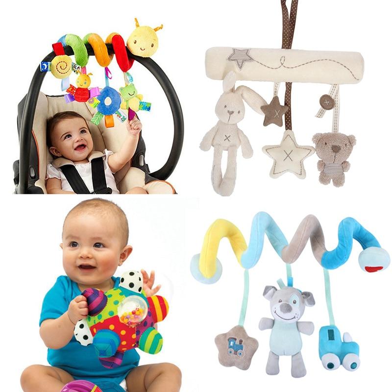Puha kiságy ágy babakocsi játék spirál babajáték - Csecsemőjátékok