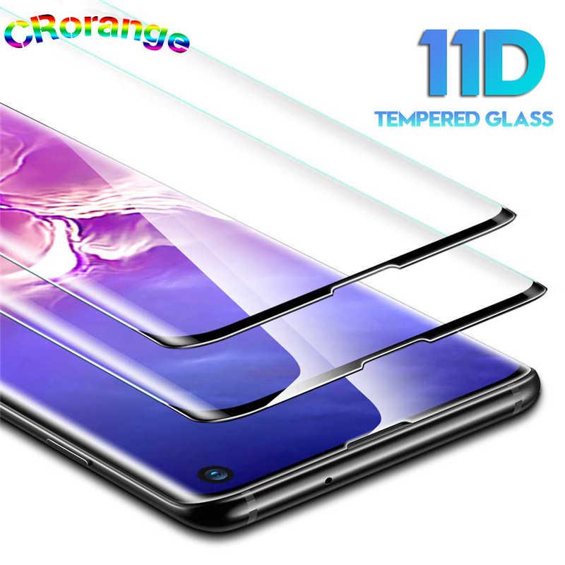 11D Pieno Curvo Protezione Dello Schermo per Samsung S8 S9 Più Note8 Note9 Vetro Temperato bordo s7 Per La Galassia S10 Più nota 10 Più Il Film