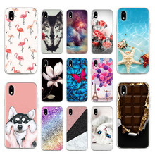 Silicon Phone Case For ZTE Blade A3 2020 Cases Soft TPU Animal Floral Protective Fundas For ZTE A3 2020 5.45 inch Covers Bumper