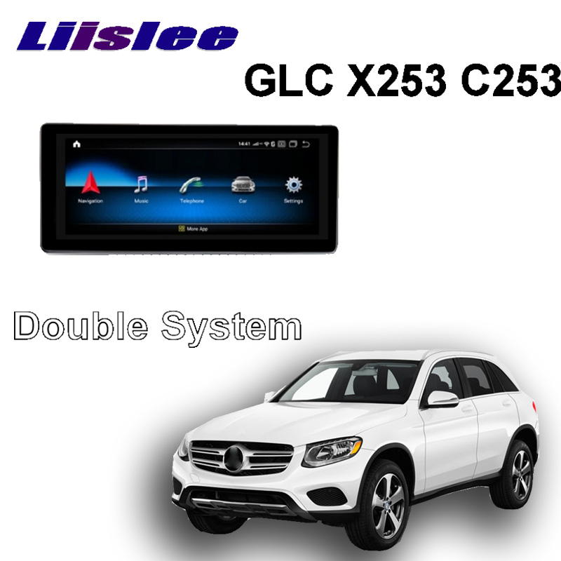 Car Multimedia <font><b>GPS</b></font> Audio Radio <font><b>For</b></font> <font><b>Mercedes</b></font> Benz MB GLC 200 Class X253 C253 <font><b>GLC300</b></font> 2015 2016 2017 2018 CarPlay TPMS Navigation image