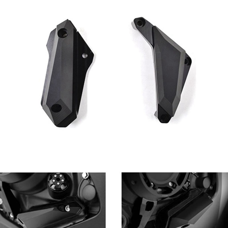 Motorcycle Engine Guard Hood Side Cover Engine Anti-Drop Slider for Yamaha MT03 YZF-R3 R25 2013-2016
