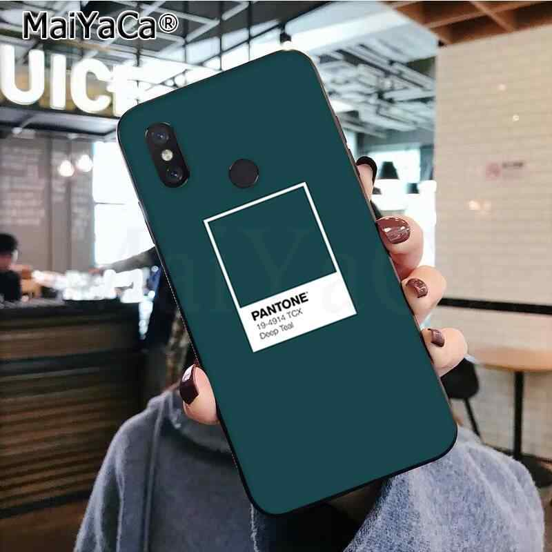 MaiYaCa بانتون لون الحلوى DIY رسمت الهاتف جراب هاتف شاومي 8 9 se Redmi 6pro 6A 4X7 8 5 زائد ملاحظة 5 7 6pro