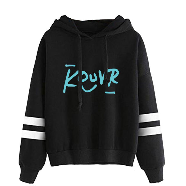 KOUVR ANNON THEMED STRIPED HOODIE (28 VARIAN)