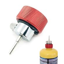 Propane Filling Refill Adapter for Green Propane Tank W/ Silicone Oil Port &T8