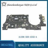 Placa base A1398 para Macbook Pro Retina CPU i5 2,3 GHz 8GB, año 2012
