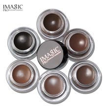 IMAGIC Professional Eyebrow Gel 6 Colors High Brow Tint Makeup cream Brown With Brush Tools Cosmetics