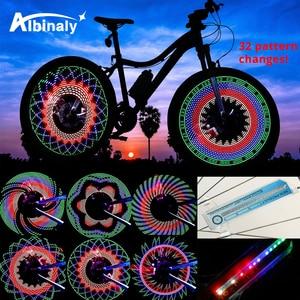 30 pattern Bike light Bicycle