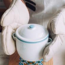 13 см мини эмаль маленькая тушеная домашняя с крышкой водяная мультяшная чашка на пару яйцо тушеное Птичье гнездо вспененный, аквапалка чаша резервуар для хранения