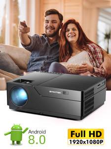 BYINTEK Proyector Laser Video-Beamer Cinema Smart K20X Android 1920x1080 Full-Hd WIFI