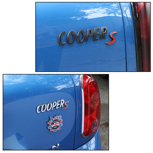 Image 5 - Voor Mini Cooper S R55 R56 R60 R61 F54 F55 F56 F60 Countryman Decoratie Accessoires 3D Metalen Auto Stickers Achter kofferbak Tail Emblem
