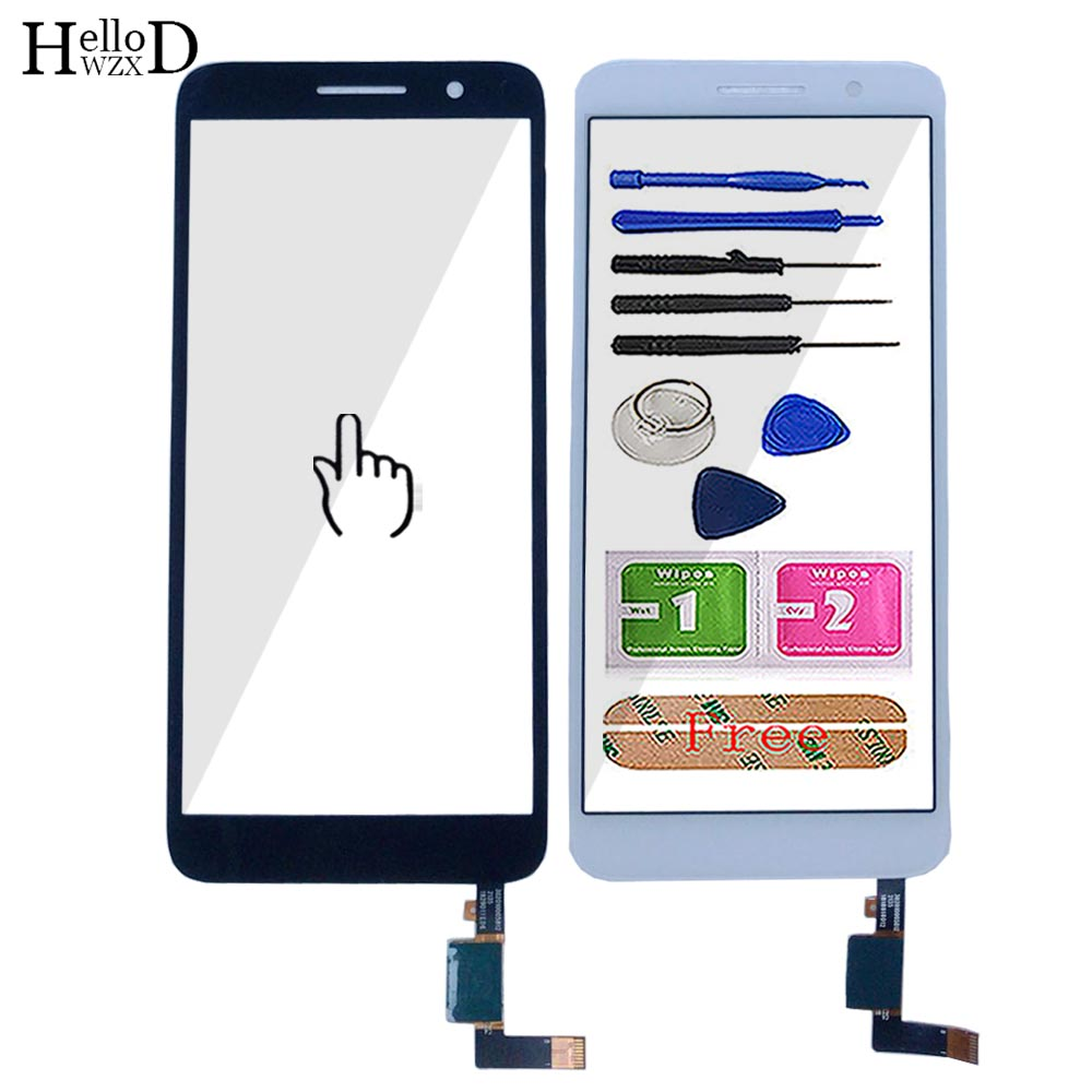 Mobile Touch Screen For Alcatel 1 5033 5033D 5033X 5033Y 5033A 5033J Touch Screen Digitizer Panel Front Glass Lens Sensor Tools