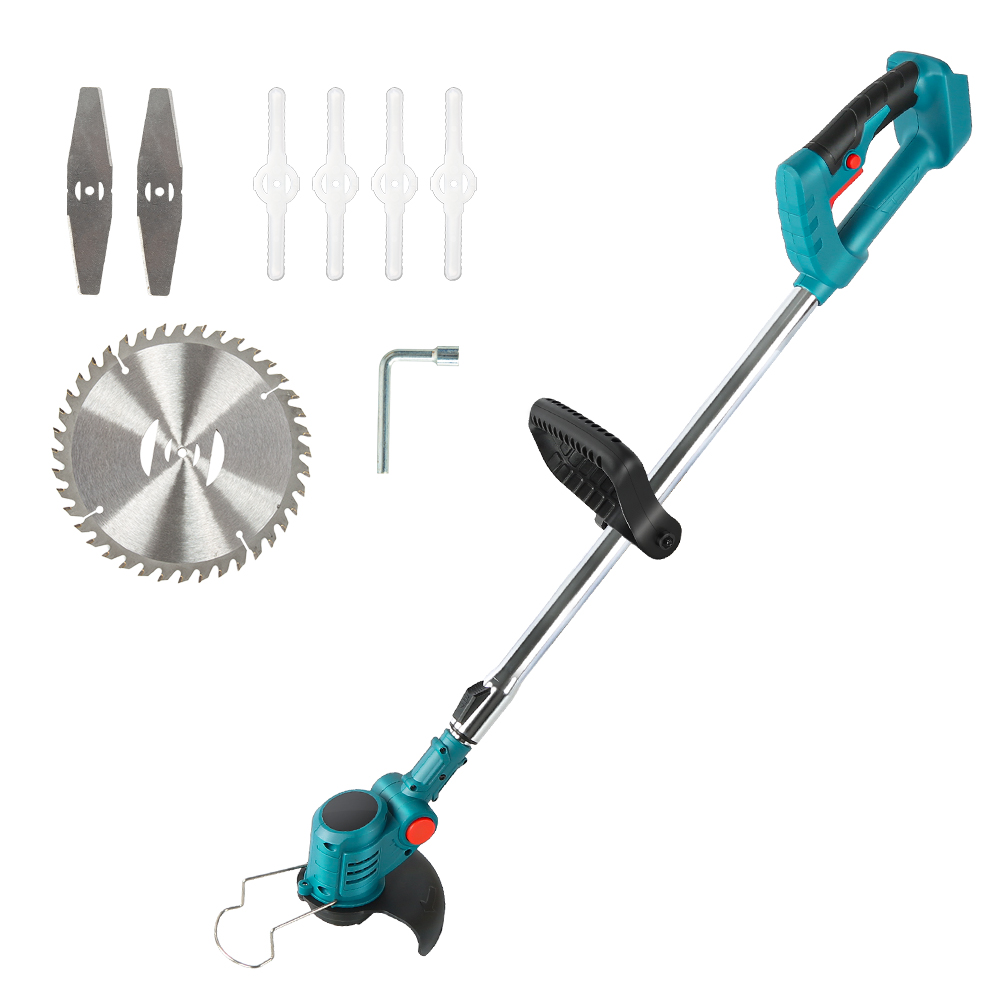 Electric Grass Trimmer for Makita 18V Lawn Mower Cordless Brush Li-Ion Auto Release String Cutter Power Household Garden Tools