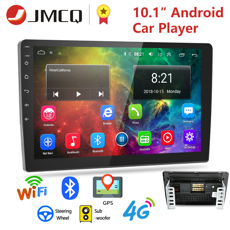 2 Din Android 8.1 2G+32G 4G NET 9/10.1 Inch Car radio Multimedia Video Player 2Din Navigation GPS FM For Nissan Kia Honda VW image