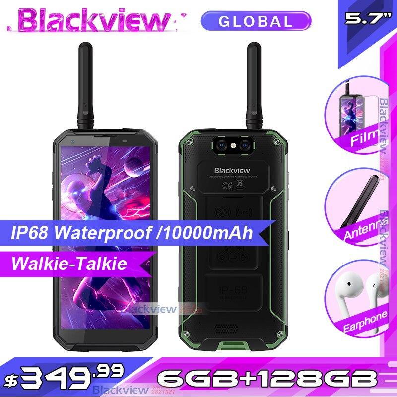 Blackview BV9500 Pro IP68 Водонепроницаемый смартфон 6 ГБ + 128 Гб Беспроводной зарядки 5,7
