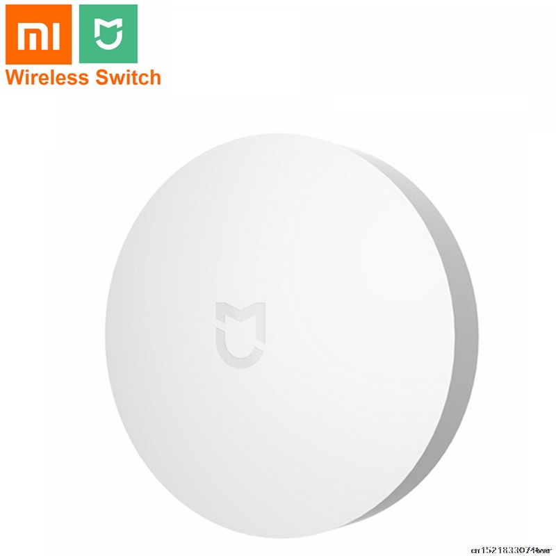 Original Xiaomi Mijia Wireless Switch Remote Control Center Intelligent Multifunction Smart Home Device Work With Xiaomi APP