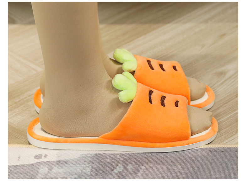 H2c337149182144ef87e5a986f2134839Y Plus size chinelos menina dedo do pé aberto antiderrapante grosso cenoura abacaxi interior casa de madeira sapatos verão casal casa chinelos