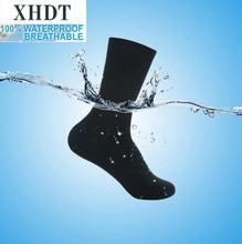 Mannen hoge kwaliteit kniehoge ademende coolmax Moslim duurzaam wudhu running waterdicht/winddicht thermische outdoor sport sokken