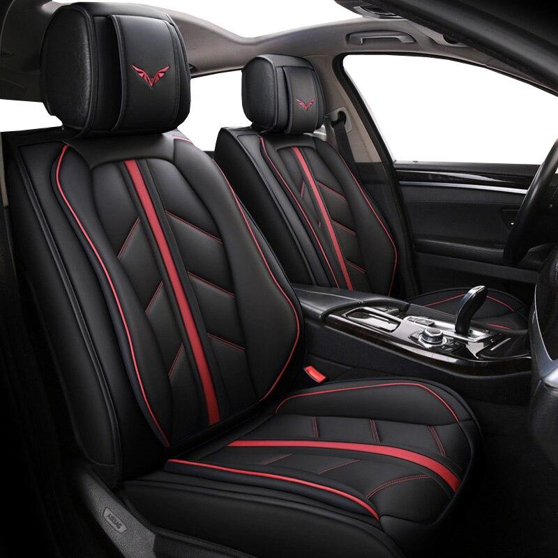 Housse de siège de voiture en cuir spécial de haute qualité pour brillance faw v5 byd f0 f3 s6 Cadillac cts srx cs35 chery tiggo 5 t11