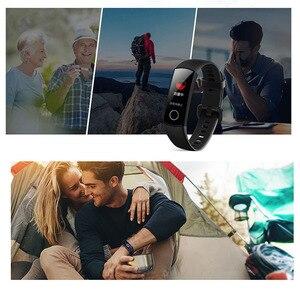 Image 5 - سوار معصم ذكي 5 من Honor Band مزود بمراقب للسباحة والسباحة والكشف عن معدل نبض القلب وقفوة للنوم وشاشة ملونة AMOLED 0.95 بوصة