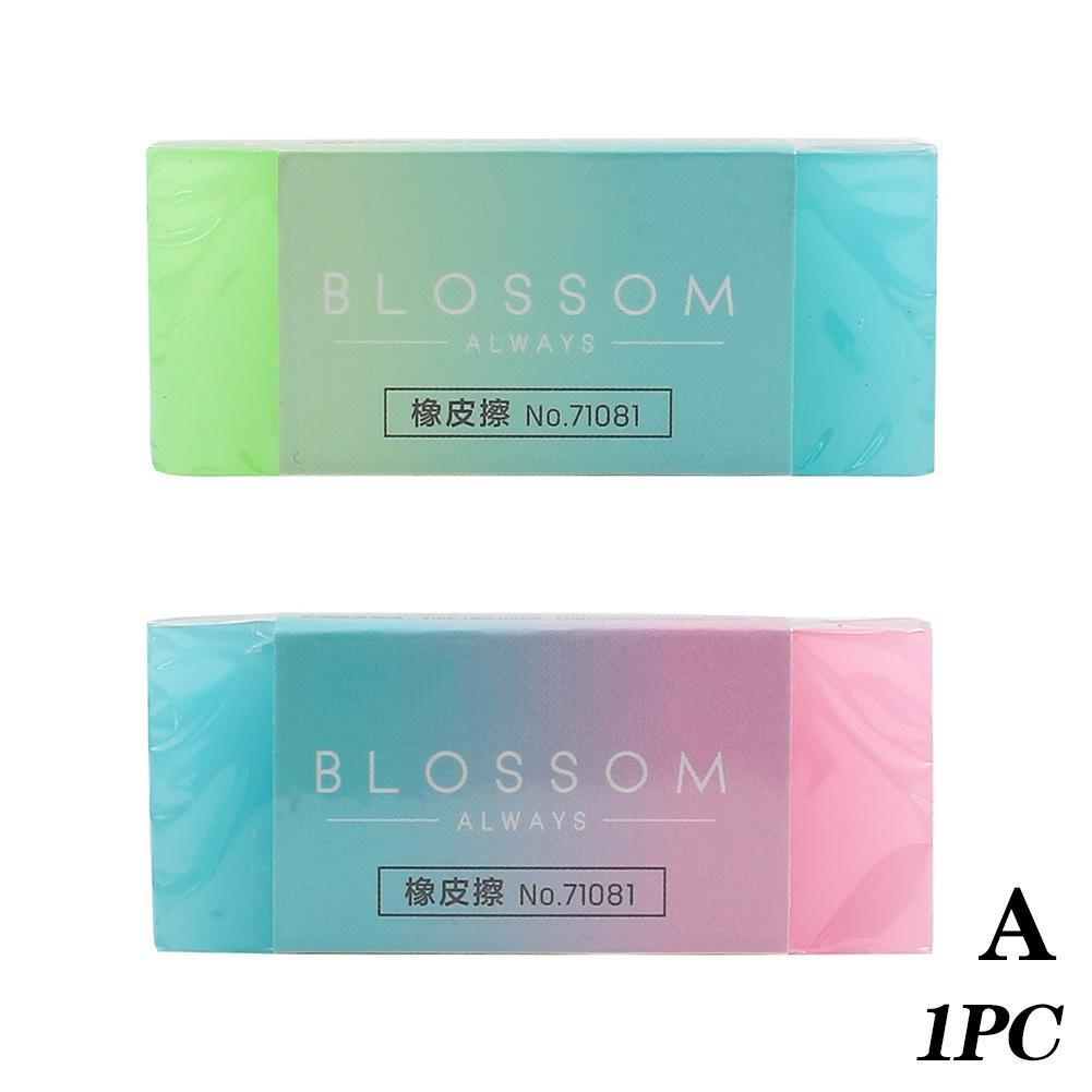 5Pcs Candy Jelly Colored Pencil Rubber Eraser Professional Erasers Durable Student Soft Cute Flexible Office School Cube K6E1