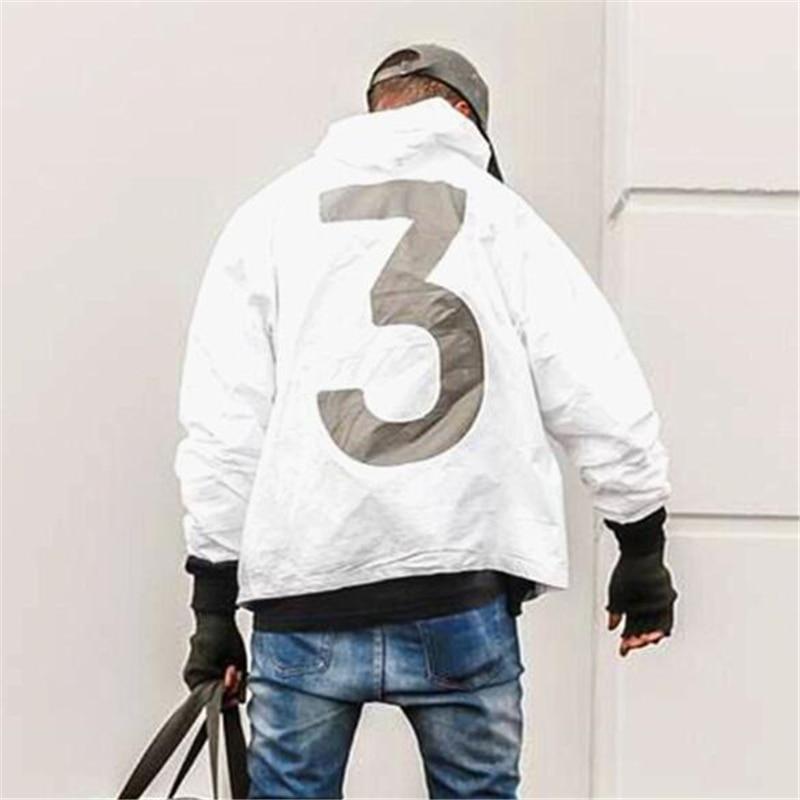 New 2020 Hot Selling Kanye West Y3 Season 3 Windbreaker Men Women Hip Hop Jacket Fashion Outwear Coat US SIZE