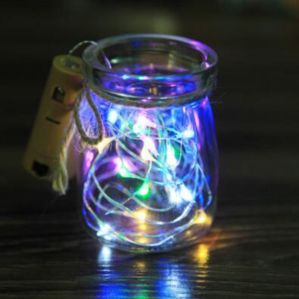 Waterproof Fairy Light Christmas Lights Outdoor Luces Led Decoracion Copper Wire String Light For Wedding Xmas Garland Party