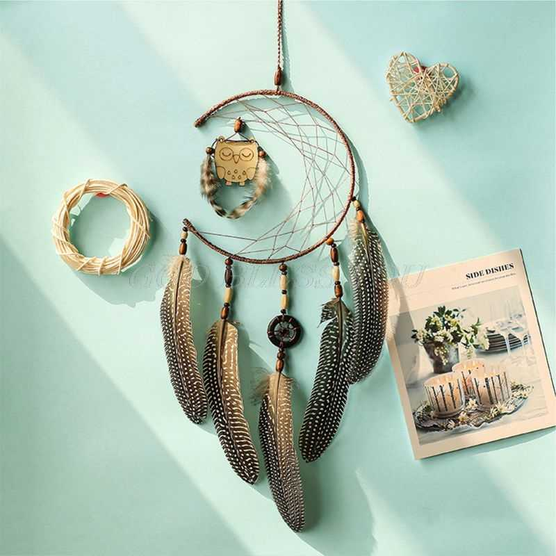 Panier de rêves en métal livraison directe | Panier lunaire pour bricolage, attrape-rêves fait à la main, macramé matériel accessoires artisanat, livraison directe