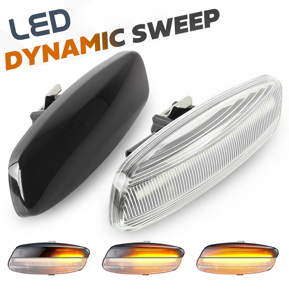 <font><b>LED</b></font> Dynamic Side Marker Turn Signal <font><b>Light</b></font> Indicator for <font><b>Peugeot</b></font> 3008 5008 207 <font><b>308</b></font> RCZ Citroen C4 Coupe Picasso C3 C5 X7 DS3 DS4 image