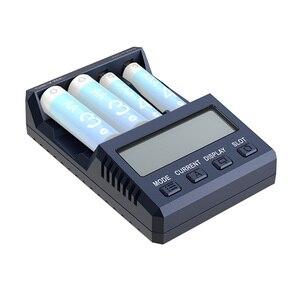 Оригинальный SKYRC NC1500 AA/AAA аккумулятор Умный интеллектуальный 4 слота ЖК-дисплей Быстрая зарядка зарядное устройство NiMH батареи разряда