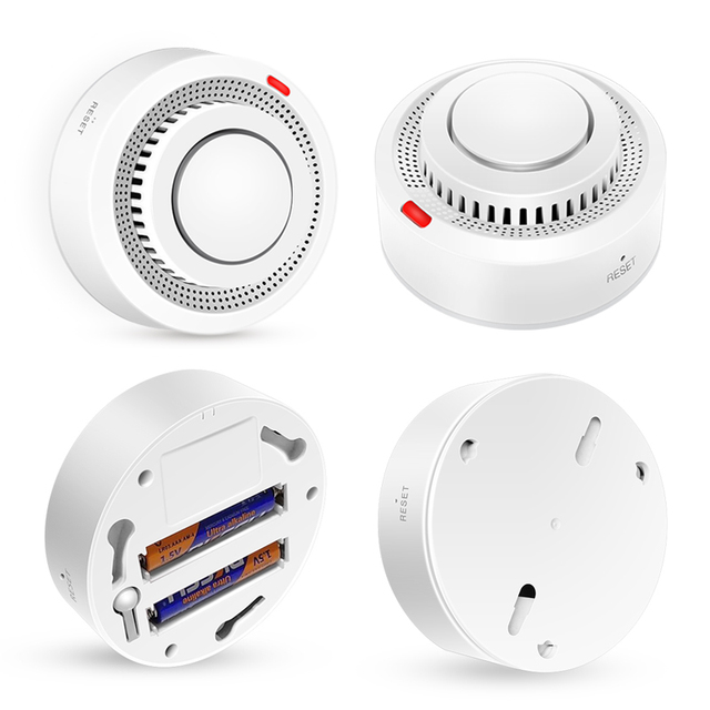 Tuya WiFi Smoke Alarm Fire Protection Smoke Detector  4