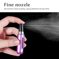 8ml 5ml Portable Mini Refillable Perfume Bottle With Spray Scent Pump Bottle For Travel 1