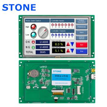 TFT Display 7 inch with Controller Board + Touchscreen + Program for Industrial Control Panel dac bc04 industrial control board 19akbc0402 industrial motherboard brand new page 7