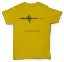 Geluidsgolven T-shirt Mixing Recording Hip Hop Dj Mc Rap Dilla Madlib Pete Rock(China)