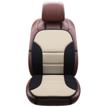1PCS Car Auto Front Seat Cushions Front Seat Cover Auto Chair Cushion Universal Breathable Luxury Seat Car Cover universal car seat cover fiber linen front cushion 3d car styling seat covers automobiles for toyota for hyundai 1pcs 3 colored