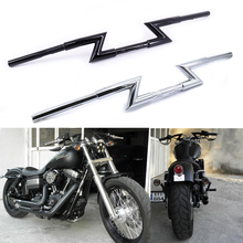Drag-Bar Bobber Chopper Dirt-Bike Motorcycle Handlebars Cafe Racer Yamaha Universal Honda