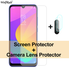 2Pcs Screen Protector For Xiaomi Mi A3 Glass 9 A2 Lite Tempered Glass Protective Phone Film For Xiaomi Redmi 8A 7 Note 8 Pro 8T