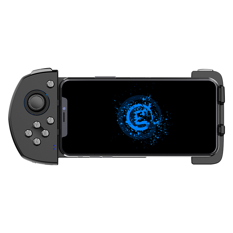 One-Handed Mobile Game Controller G6 Wireless Bluetooth Gamepad With Joystick For IPhone COD/PUBG image