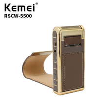 Kemei Cordless Electric Shaver Facial Care ABS Quality Materials Men's Shaving Electric Shaver 220V3W Fine Tuning RSCW-5500 rscw 9001 portable shaver electric razor