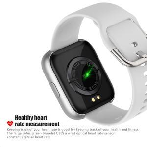 Image 4 - Cobrafly P6 Smart Watch Women Men pk P68 P70 1.4 Inch Full Touch Screen IP67 Waterproof Heart Rate Monitor Fitness Tracker Watch