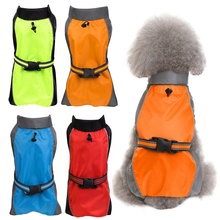 Practical Dog Clothes Waterproof Coat Rain Jacket Jumpsuit Autumn Winter Outdoor Dogs Clothing Windproof Jackets For Pet